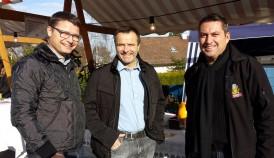 Patrik Stacher, Urs Schneider, Stefan Mühlemann