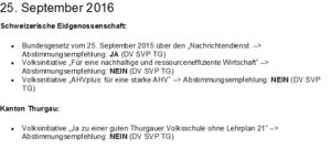 Empfehlung_25. September 2016